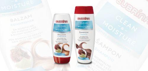 Subrina Clean & Moisture za mastne lase s suhimi konicami