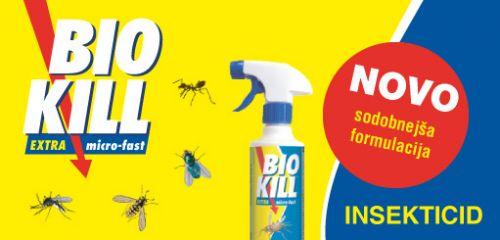 BIO KILL EXTRA micro-fast z novo formulacijo