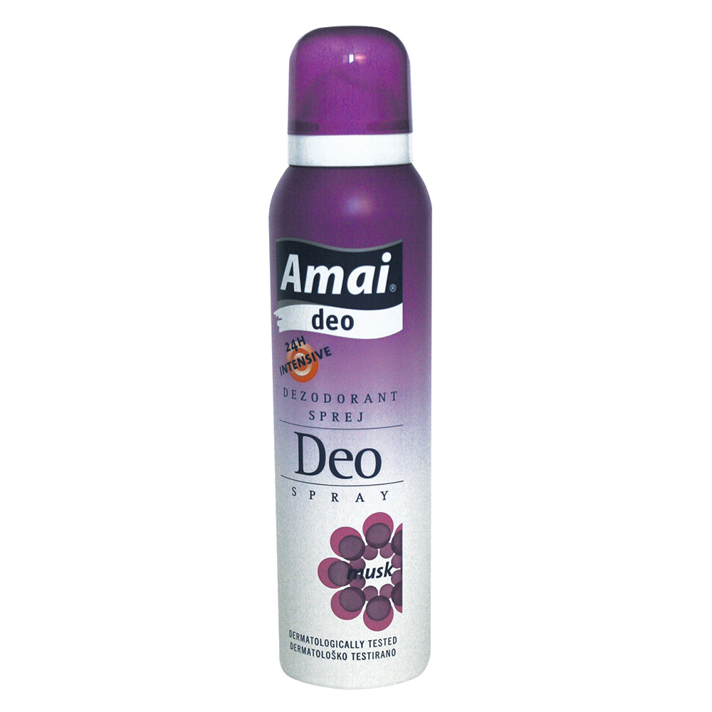 AMAI DEO SPRAY musk 150ml